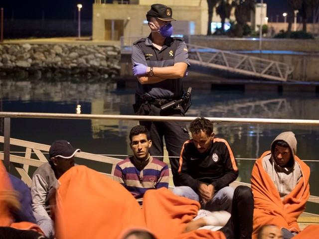 19 migrants marocains interceptés à Ceuta par les autorités espagnoles