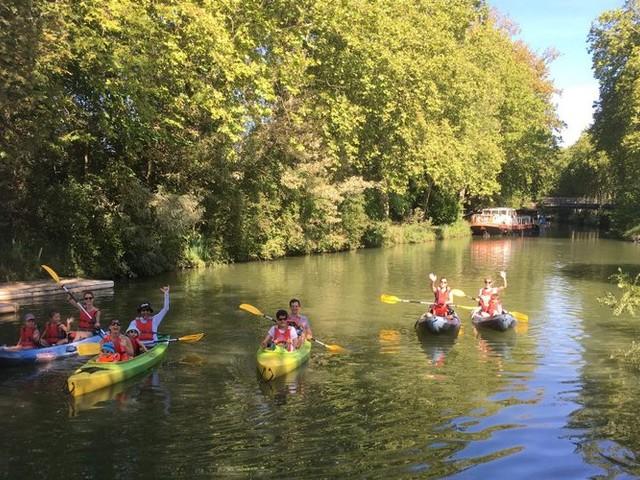 Le canal du Midi pour la première fois en Canoë