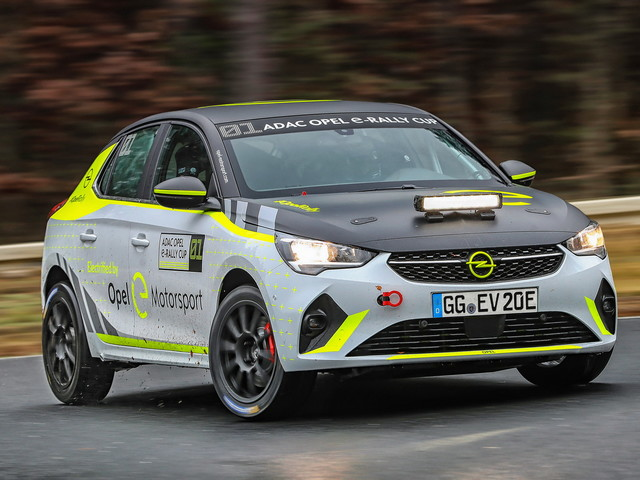 Opel prépare une version rallye de la Corsa-e