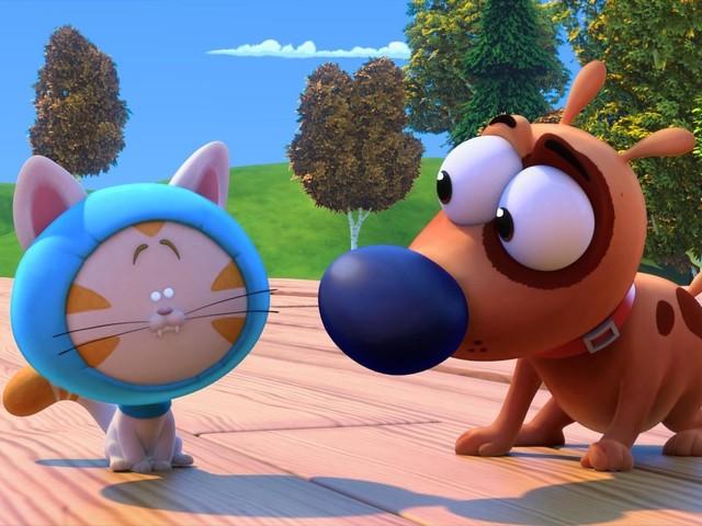 La série animée Paf le chien diffusée dès le 23 décembre sur France 4.