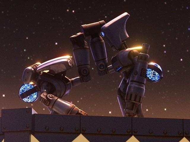 Deux amis robots luttent pour leur liberté dans ce nouveau court-métrage touchant de Pixar