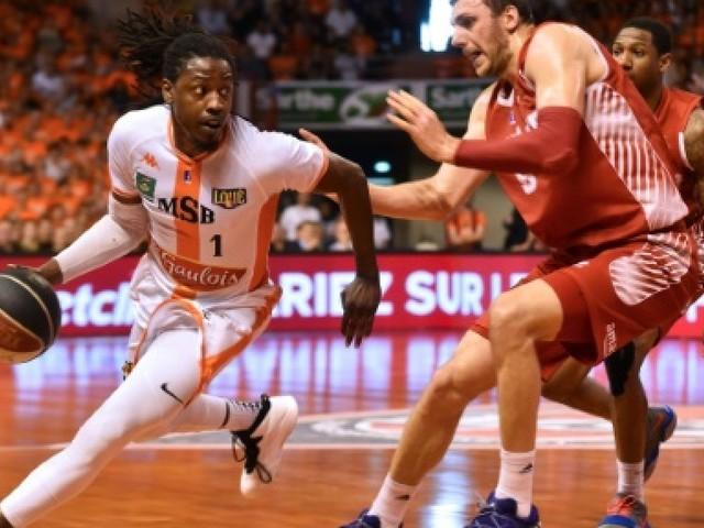 Basket: Le Mans manque une balle de match face à Monaco