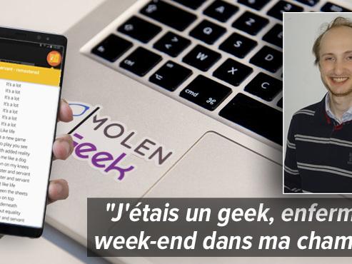 Comment Guillaume, un étudiant belge qui a développé une super application dans sa chambre, est devenu le patron d'une start-up qui va vous faire chanter ?