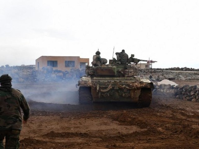 Syrie: renfort de troupes autour d'une banlieue d'Alep