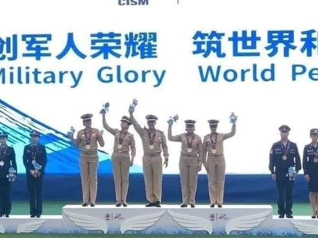 Le Maroc remporte six médailles, dont trois d'or, aux Jeux mondiaux militaires