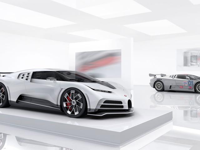 Les photos de la Bugatti Centodieci, un bel hommage rendu à l'EB110