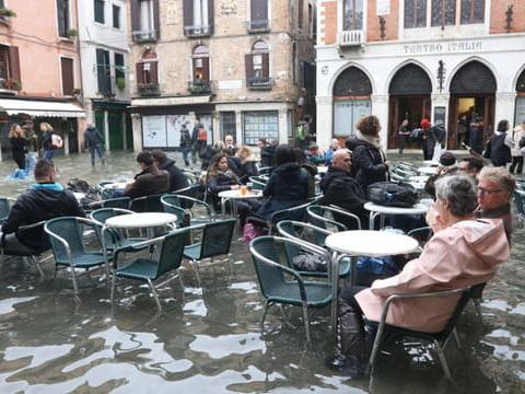 Venise sous les eaux: nouvelle acqua alta ce lundi, quels sont les monuments fermés?