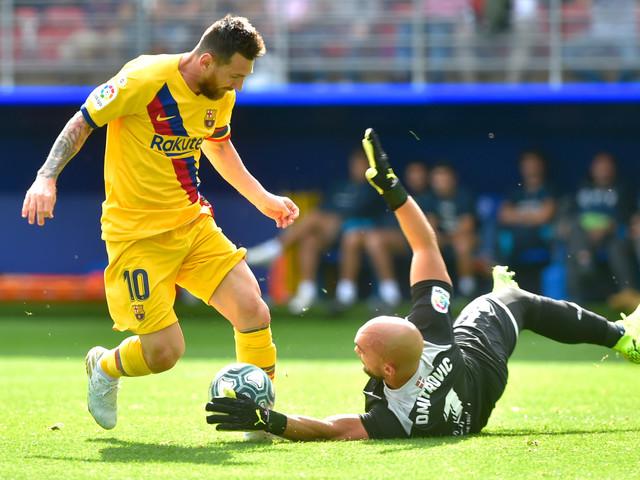 """Espagne: le trio """"GSM"""" hisse Barcelone en tête, l'Atlético patine"""