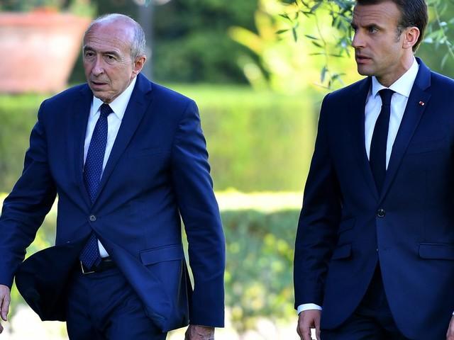 Lyon : Emmanuel Macron fait confiance à Gérard Collomb