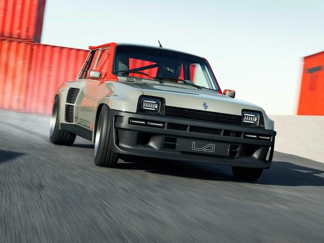 PHOTO - Renault 5 Turbo 3 (2021), pour humilier Audi et AMG ?