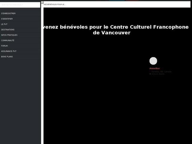 Devenez bénévoles pour le Centre Culturel Francophone de Vancouver