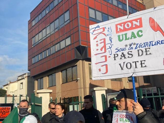 Avant la présidentielle algérienne, des votes sous tension dans plusieurs villes en France
