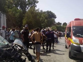 Tunisie: Décès d'une personne et une autre blessée dans la collision entre un camion et une voiture