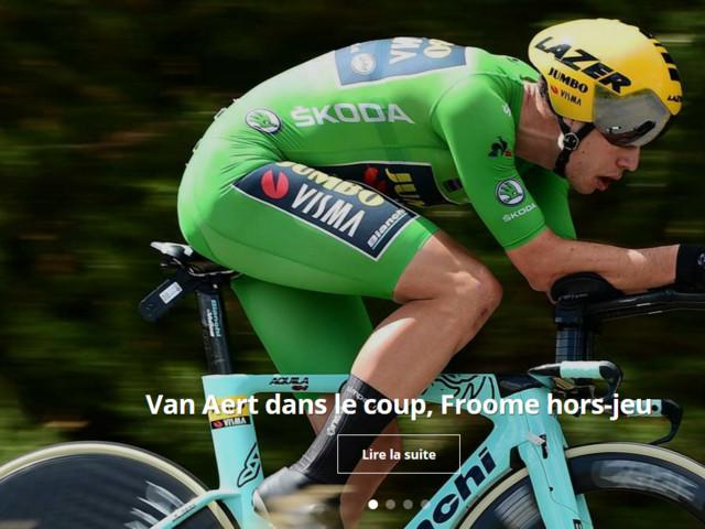 Critérium du Dauphiné : Van Aert impressionne - Critérium du Dauphiné, étape 4. Le spécialiste des sous bois Wout Van Aert épate tout le monde en s'imposant sur ce Chrono avec plus de 30 secondes d'avance sur ses premiers poursuivants. Au général, Yates récupère le maillot. + VIDEOS - (Vélo 101, le site officiel du Vélo ® - Nathan Malo - Critérium du Dauphiné - François Schrurs - Vélo Palmarès -
