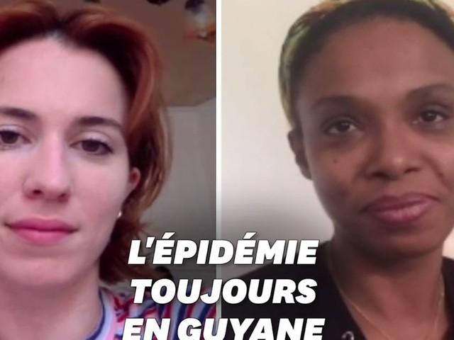 """En Guyane, la """"phase sérieuse"""" de l'épidémie inquiète la population"""