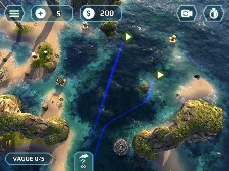 Naval Storm : univers maritime et mécaniques bien huilées dans ce nouveau jeu de Tower Defense pour iPhone et iPad