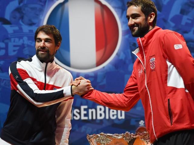 Coupe Davis : Noah mise sur Tsonga et Chardy en simples pour la finale de vendredi