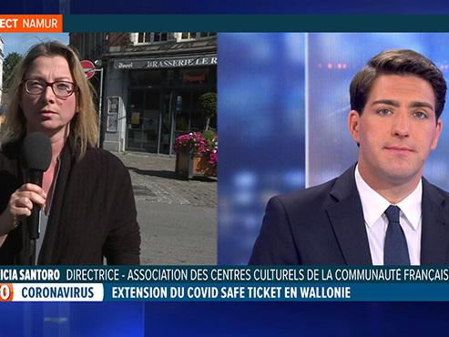 """Le monde culturel opposé au Covid Safe Ticket en Wallonie: """"C'est discriminatoire"""""""