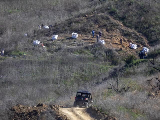 Mort de Kobe Bryant : les corps des neufs victimes ont été évacués du site de l'accident