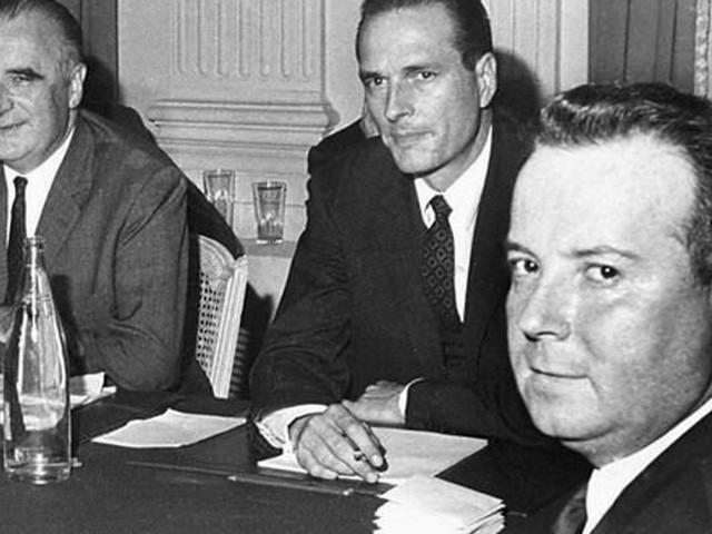 Jacques Chirac était un lointain cousin de Georges Pompidou selon sa généalogie
