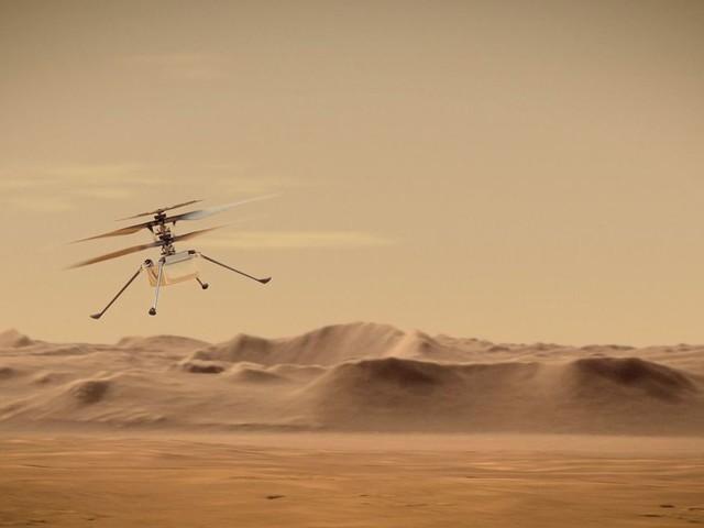La Nasa va tenter de faire voler un hélicoptère au-dessus de Mars