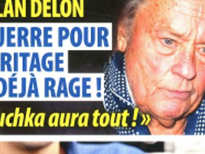 Alain Delon, héritage, étrange décision, il laisse tout à Anouchka (photo)