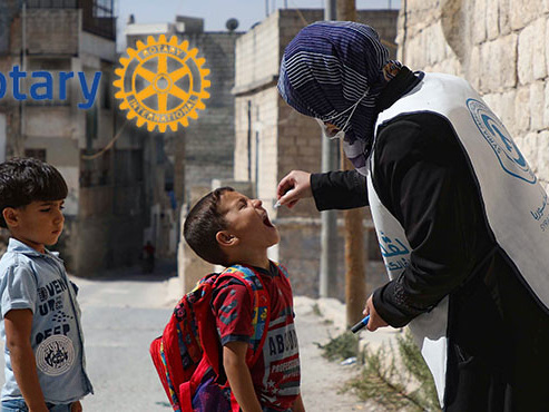 """Grâce à la vaccination, la polio est presque éradiquée: """"Enfin un message positif en cette période de Covid"""""""