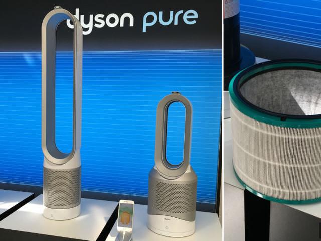 Dyson offre de nouveaux filtres à ses purificateurs d'air