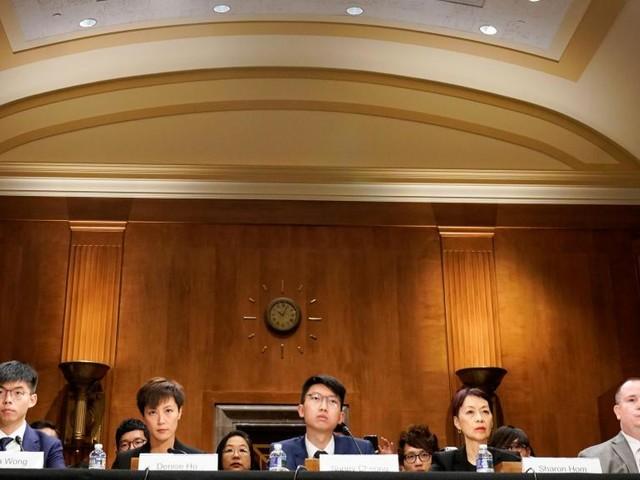 Des militants hongkongais plaident leur cause devant le Congrès américain