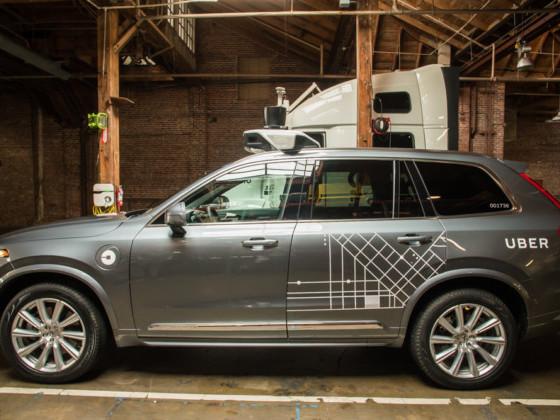 Uber : grosse commande chez Volvo, son service sans chauffeur s'approche