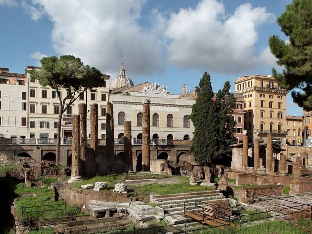 Rome : le lieu exact où Jules César fut assassiné ouvrira au public en 2022
