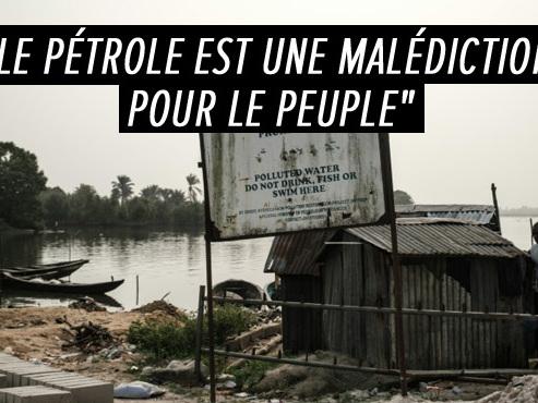 """""""Mon coeur saigne"""": des décennies de marée noire ont dévasté des villages entiers dans le sud-est du Nigeria"""
