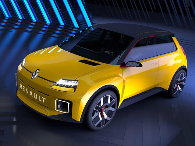 PHOTOS - La R5 de retour en version 100 % électrique chez Renault