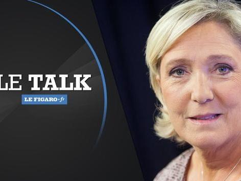 Marine Le Pen, invitée du Talk