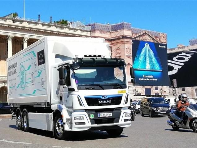 MAN eTGM : un premier camion électrique pour accéder aux centres-villes