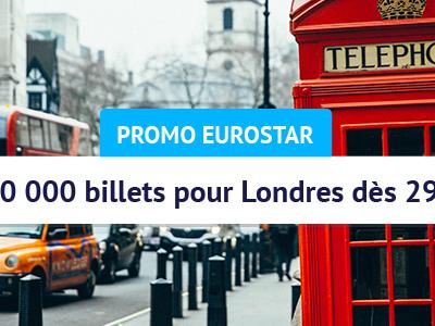 Eurostar : des billets en promo pour les mini-groupes de 2 à 5 voyageurs