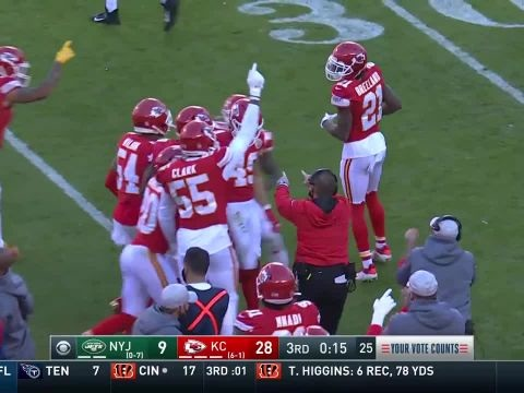 Foot US - NFL - Le résumé de Kansas City Chiefs - New York Jets en vidéo