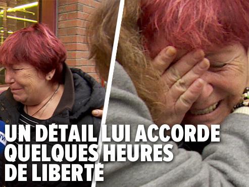 Nous avons suivi jusqu'à la prison Mireille De Lauw, condamnée pour le meurtre de son mari violent: elle a été refusée