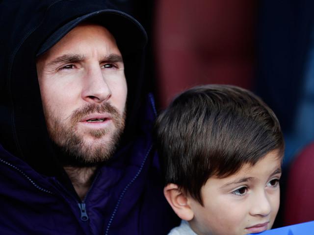 Ballon d'Or : la réaction trop craquante du fils à Messi !
