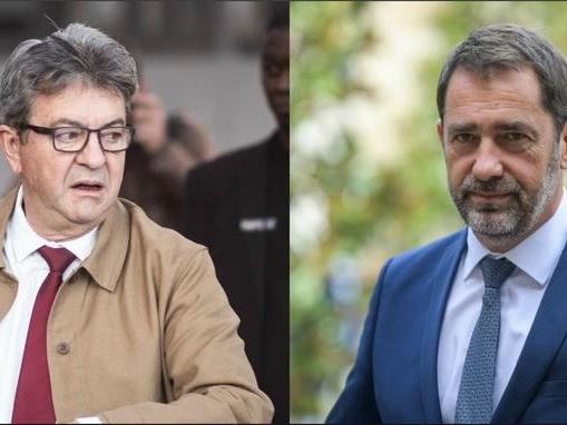 Mélenchon qualifie les policiers de «barbares», Castaner lui réclame des excuses