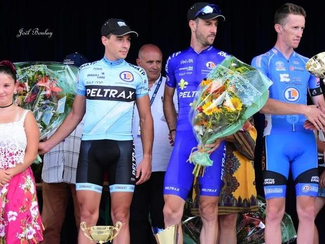 Ronan RACAULT (Team Peltrax-CS Dammarie-lès-Lys) a remporté,la 25e édition du Grand Prix Christian Fenioux, cinquième manche de la Coupe de France DN2, à Heugnes (Indre). Après 148,7 kilomètres de course, devantson coéquipier Valentin ORTIKKON et Corentin DUBOIS (POC Côte de Lumière). Ronan RACAULT succède au Finlandais Jaakko Hänninen au palmarès de l'épreuve.- Classement et photos - (Joel BOULAY - Actualité - DirectVélo - La Nouvelle République)