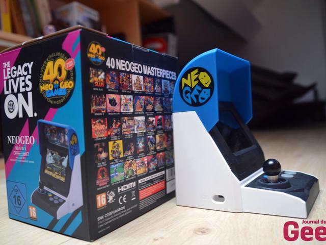 Neo Geo Mini de SNK : notre test d'une petite borne d'arcade de qualité mais peu accessible
