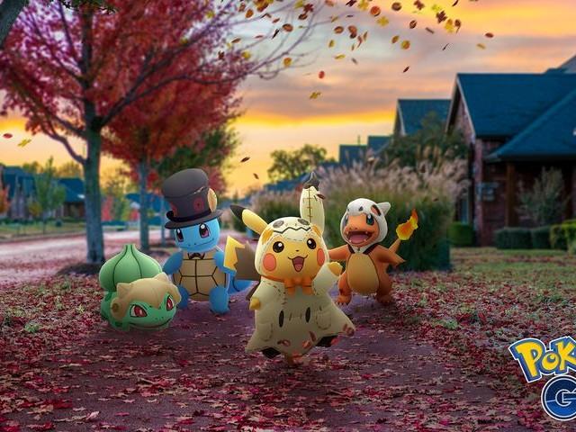 Pokémon GO fête Halloween dès le 17 octobre