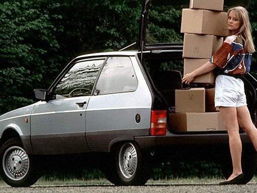 La beauté des laides - Citroën Axel: déja vieille au moment de son lancement