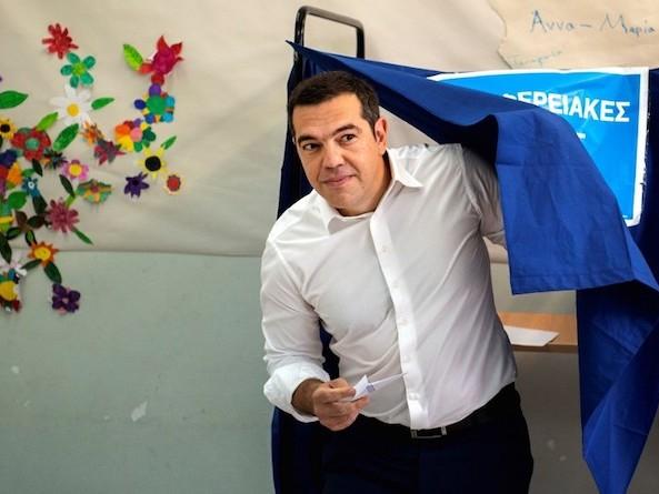 Européennes 2019 en Grèce : Syriza boit la tasse sous une vague bleue