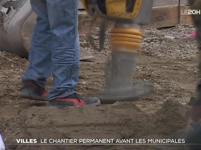 Villes : le chantier permanent avant les municipales