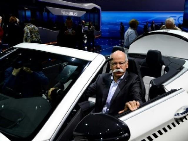 Daimler accélère le tempo sur la voiture électrique