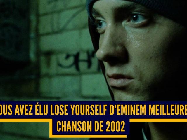 Top 15 des meilleures chansons de l'année 2002, selon les Français