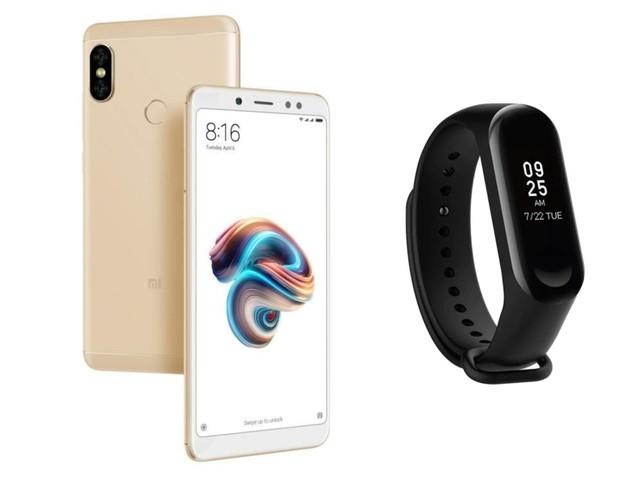 Le pack «pas cher» : le Xiaomi Redmi Note 5 et un Mi Band 3 pour 119 euros