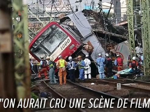 Terrible crash entre un train et un camion au Japon: un mort, plus de 30 blessés